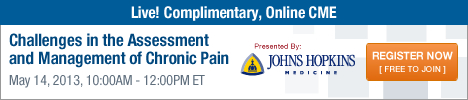 Johns Hopkins - Challenges in the Assessment and Management of Chronic Pain